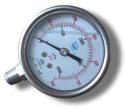 不锈钢耐震压力表1
