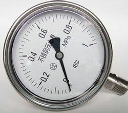 不锈钢压力表2